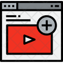 Browser Video Add Icon