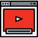 Browser Video Web Icon