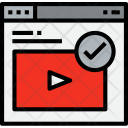 Browser Video Check Icon