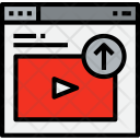 Browser Video Upload Icon