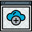 Browser Cloud Add Icon