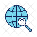 Browser Global Search Network Icon