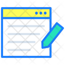 Browser Web Page Web Icon