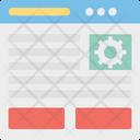 Browser Gear Seo Icon
