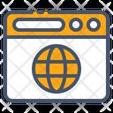 Globe Internet Link Icon