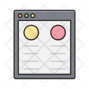 Browser Webpage Dialog Icon
