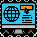 Computer Internet Screen Icon