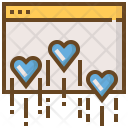Browser Heart Network Icon