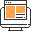 Browser Computer Interface Icon