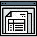 Browser Document Invoice Icon