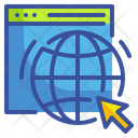 Browser Internet Global Icon