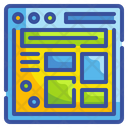 Browser Dashboard Layout Icon