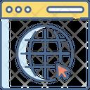 Browser Webpage Web Icon