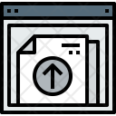 Browser Document Upload Icon