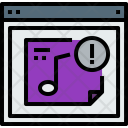 Browser Music I Icon