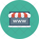 Browser Ecommerce Homepage Icon