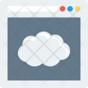 Browser Cloud Internet Icon