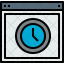 Browser Time Webpage Icon