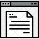 Browser Document Web Icon