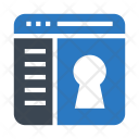 Lock Security Browser Icon
