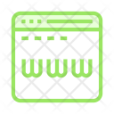Browser Window Online Icon