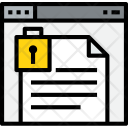 Browser Document Lock Icon