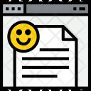 Browser Emotion Web Icon
