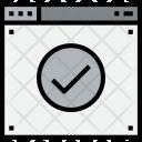 Browser Check Web Icon