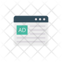 Ads Online Advertisement Icon
