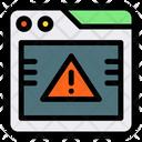 Alert Browser Error Icon