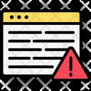 Alert Error Warning Icon