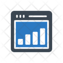 Graph Chart Online Icon