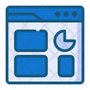 Browser Analytics Icon