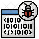 Browser Binary Bug Icon