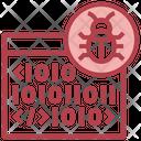 Browser Binary Bug Binary Bug Binary Encryption Icon