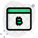 Browser Bitcoin Icon