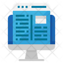 Browser Monitor Computer Icon