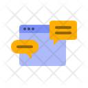 Browser Chat Icon