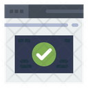 Browser Check Browser Protection Website Approve Icon