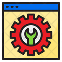 Configulation Browser User Interface Icon
