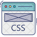 Browser Css File Online Css Code Css Programming Icon