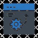 Development Webpage Browser Icon