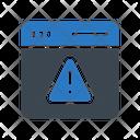 Error Warning Browser Icon