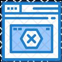 Browser Error Icon