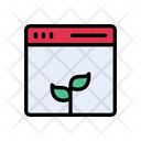 Growth Online Webpage Icon