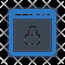 Private Lock Browser Icon