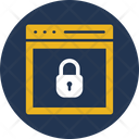 Browser Lock Lock Padlock Icon