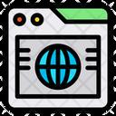 Browser Global Globe Icon