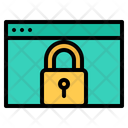 Browser Lock Browser Security Website Lock Icon