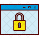 Browser Locked Icon